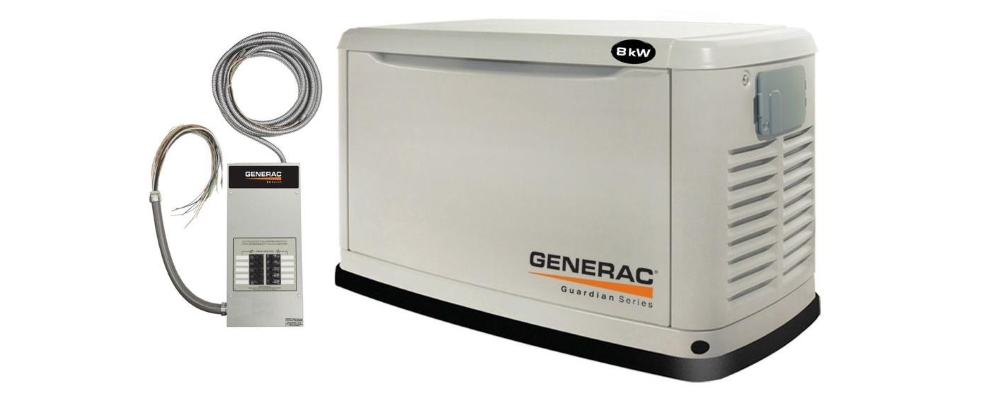 Guardian Generac automatic home standby generators Myrtle Beach by Atlantic Coast Electric
